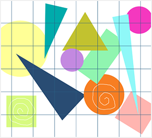 Geometric Shapes on Artworktool